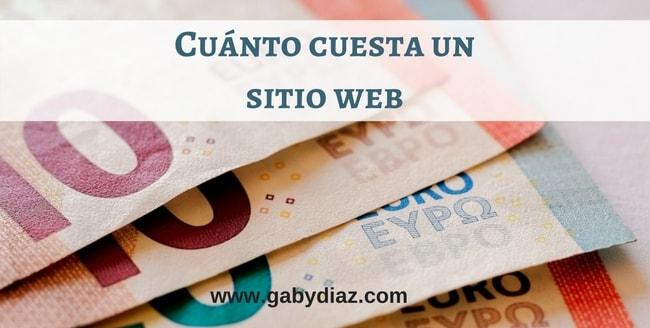 Cuánto cuesta un sitio web