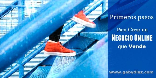 Primeros pasos para crear un negocio online que vende