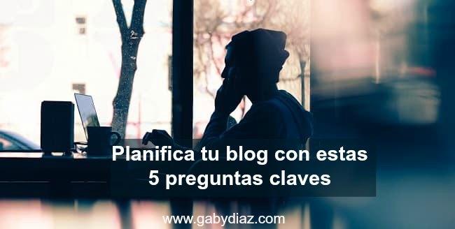 5 Preguntas claves para planificar tus artículos